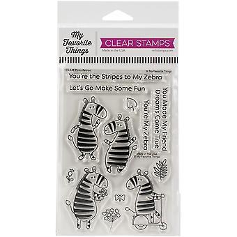 Mes choses préférées Clear Stamps 4 «X6» - Zippy Zebras