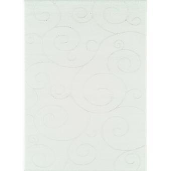 "63"" x 90"" valkoinen polyesteri / olefin-aluematto"