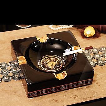 Ashtrays Gadgets Square Ceramic Cigar Ashtray|Ashtrays