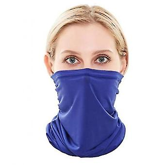 Neck gaiters neck gaiter face cover scarf(blue) #676