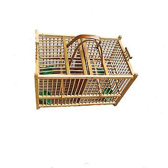 יצירתי במבוק עבודת יד כלוב שתי רשתות בית ציפור חיות מחמד אספקה חנות תחבורה כיכר הבית