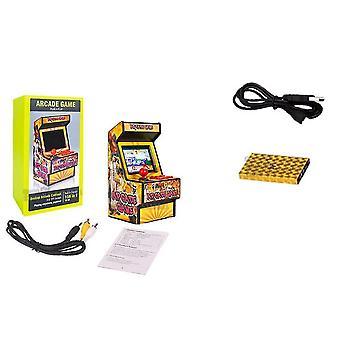 156 Jeux en 1 mini jeu d'arcade portable avec écran couleur de 2,8 pouces et rechargeable