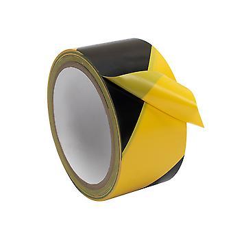 48mmx18m Straßenverkehr Sicherheit Pvc Warnband reflektierende Streifen für Fahrzeug Fense Hindernis