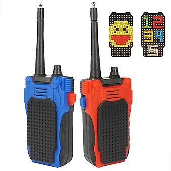 Children's Walkie-talkie Toy Gift Building Block Combination Suitable For Boys And Girls