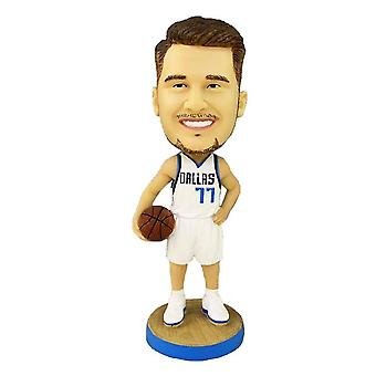 Venalisa Luka Doni Figurine d'action Statue Bobblehead Basketball Doll Décoration