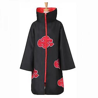Naruto Akatsuki Umhang Anime Cosplay Kostüm Kit Itachi Robe Halloween Cosplay Long Cape