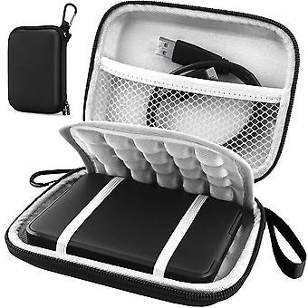 Shockproof Black Protective Cover / Hard Case / Bag / Hard Drive Case