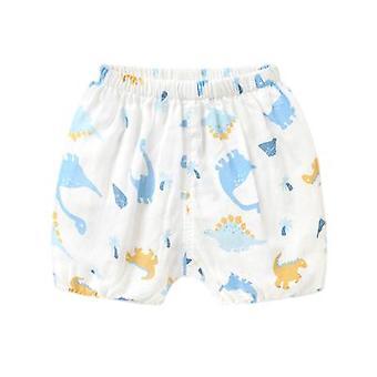 Shorts de gaze de algodão bebê para crianças de 1 ano de idade bebê
