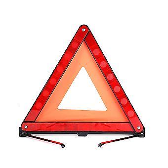 Car Triangle Warning Board, Reflective And Foldable