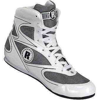 Ringside Lo-Top Diablo Boxing Shoes - White