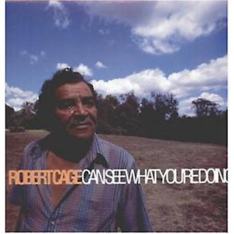 Robert Cage - Robert Cage Can See What You'R [Vinyl] USA import