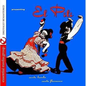 El-Pili - Cante Hondo-Cante Flamenco [CD] USA import