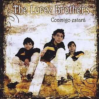 Lopez hermanos - importar de Estados Unidos Conmigo Estara [CD]