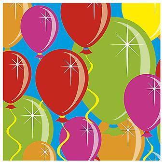 بالون تصميم الطرف المناديل 20 ش عيد ميلاد الديكور الطرف المناديل