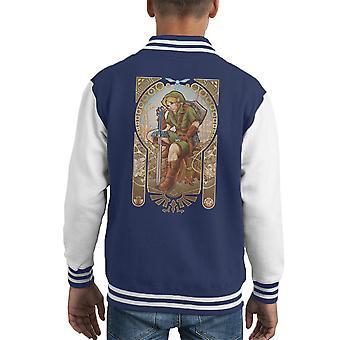 Varsity Jacket Zelda Link Hylian spirito capretto