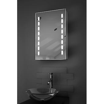 Delphia LED kylpyhuoneen kaappi huurteenpoistolaitetta Pad, anturi & parranajokone k349