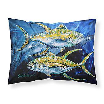 Fisch - Thunfisch Thunfisch blau feuchtigkeitsableitende Stoff standard Kissenbezug