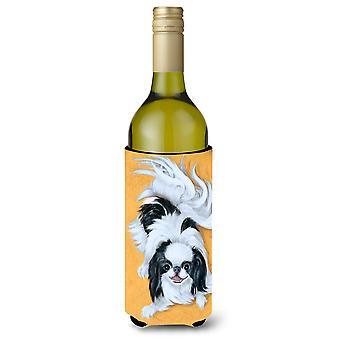 Japansk haken svart hvit spille vinflaske drikke isolator Hugger