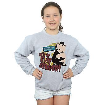 Disney Girls Toy Story Evil Oinker Sweatshirt
