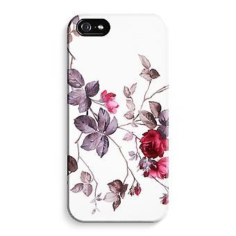 iPhone 5C koko Tulosta tapauksessa (kiiltävä) - aika kukkia