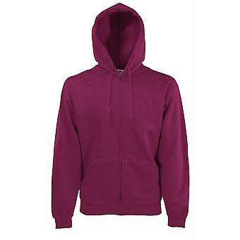 Fruit Of The Loom Mens Premium 70/30 Hooded Sweat Zip Jacket