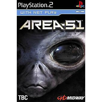 Zone 51 (PS2) - Usine scellée