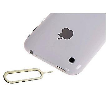 2 x iPhone 4 4S 3 G 3GS pin needle SIM cards card PIN Simnadel opener eject damp