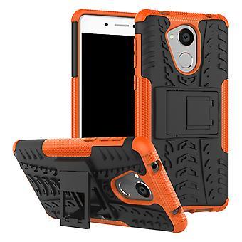 Hybrydowy przypadek 2 kawałek SWL odkryty Orange dla Huawei honor 6C pokrowiec pokrywy obudowy ochrony