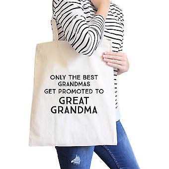Ylennettiin suuri mummo lahja uudelleenkäytettäviä ruokakauppa laukku kangas Tote