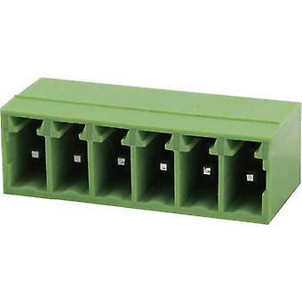 Degson Socket enclosure - PCB Total number of pins 10 Contact spacing: 3.81 mm 15EDGRC-3.81-10P-14-00AH 1 pc(s)