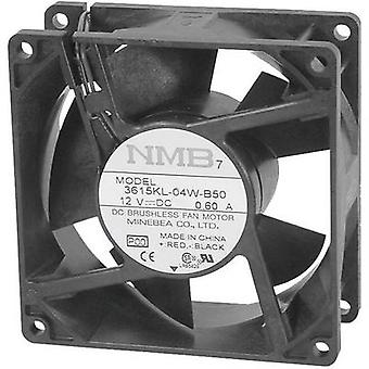 NMB Minebea 3610KL-05W-B50 Axial fan 24 V DC 93 m³/h (L x W x H) 92 x 92 x 25 mm