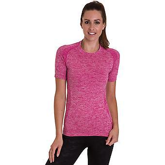 Mirada al aire libre mujeres/damas Farr fresco seco correr gimnasio T Shirt