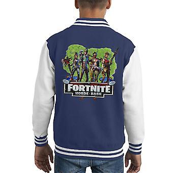 Fortnite Horde Bash barneklubb Varsity jakke