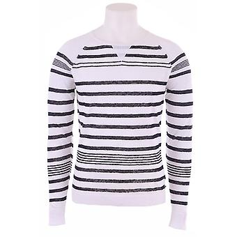 Diesel Mens Knit With Black Stripes