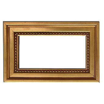 7x14 cm or 2 3/4 x 5 1/2 inch, photo frame in gold