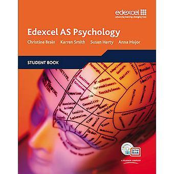 Livro de estudante de psicologia Edexcel AS + ActiveBook por Christine cérebro-