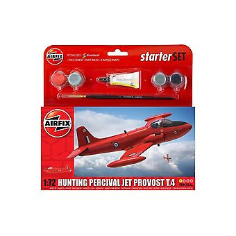 Airfix chasse Percival Jet Provost T.4 Starter Set 1 : 72