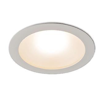 QAZQA Modern Recessed Spotlight White inkl. 20W LED-Invaser