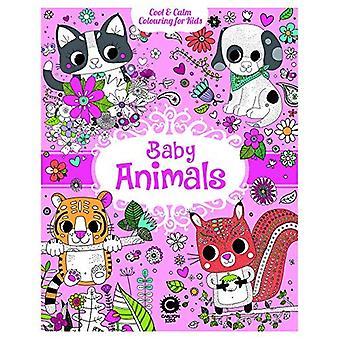 Baby dyr: Cool & rolig farging for barn