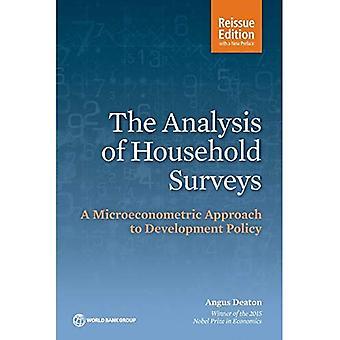 El análisis de encuestas de hogares: un enfoque microeconométricas para política de desarrollo