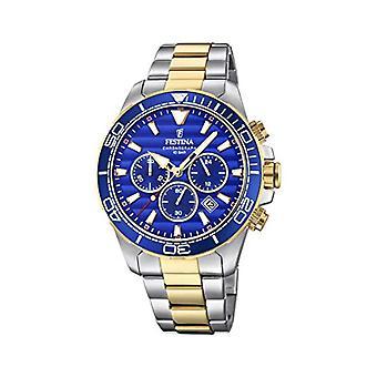 ステンレス スチール バンド F20363/2 フェスティナ クロノグラフ クォーツ メンズ腕時計