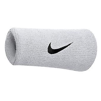 Nike Swoosh Dublu Sweatbands (1 pereche) (Pachet de 2)