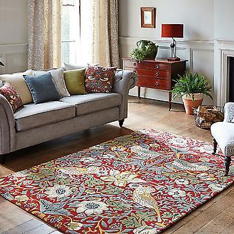 Crimson tapis 027700 voleur fraise par William Morris