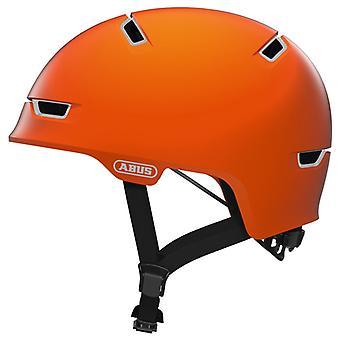 Capacete de bicicleta ABUS raspador 3.0 ACE / / sinal de laranja