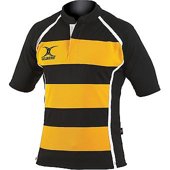 Gilbert Rugby Mens Adult Xact Match Polyester Rugby Shirt
