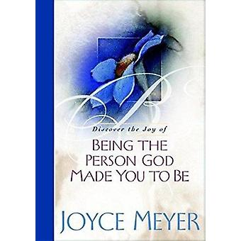 Being the Person God Made You to Be Book