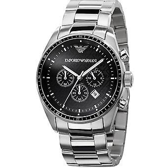 Emporio Armani Ar0585 Mens Stainless Steel Designer Watch