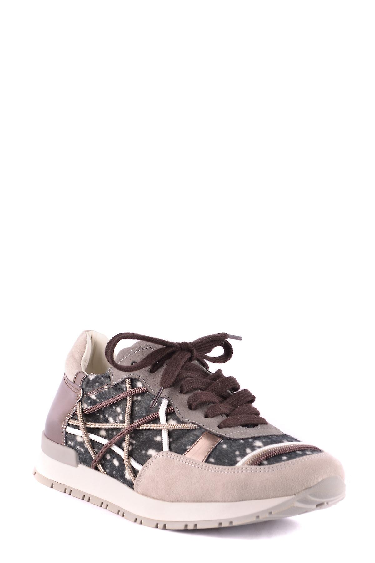 L4k3 Ezbc333002 Women's Multicolor Suede Sneakers
