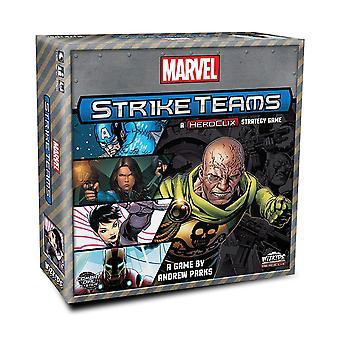 Heroclix Marvel Strike Teams Strategy Board Game