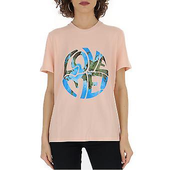 Alberta Ferretti 07046661j0131 Women's Pink Cotton T-shirt